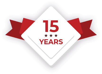 Blazepoint 15 Years Badge